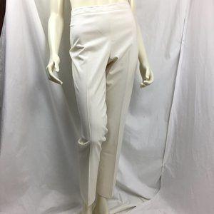 Lafayette 148 8 Mint Bleecker Wool Straight Leg